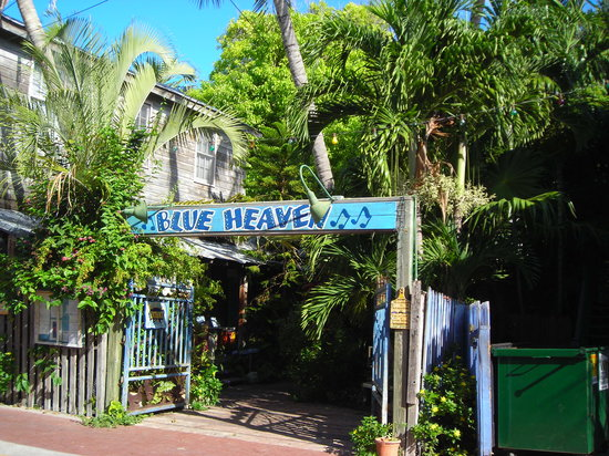 [Blue Heaven, Key West]