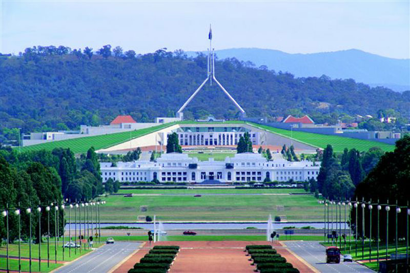 [Canberra Government Buildings]