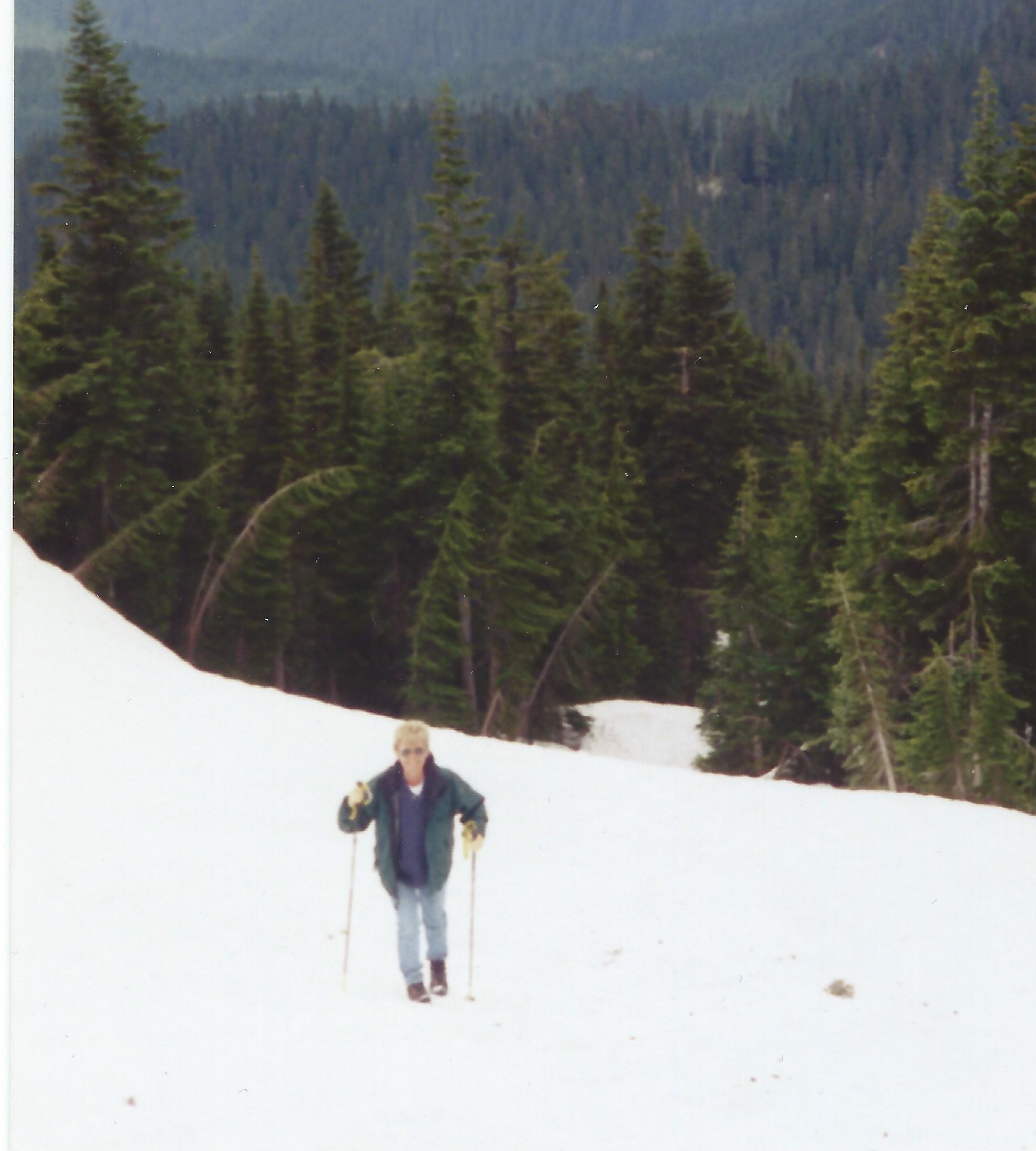 hiking Mount Rainier in July!