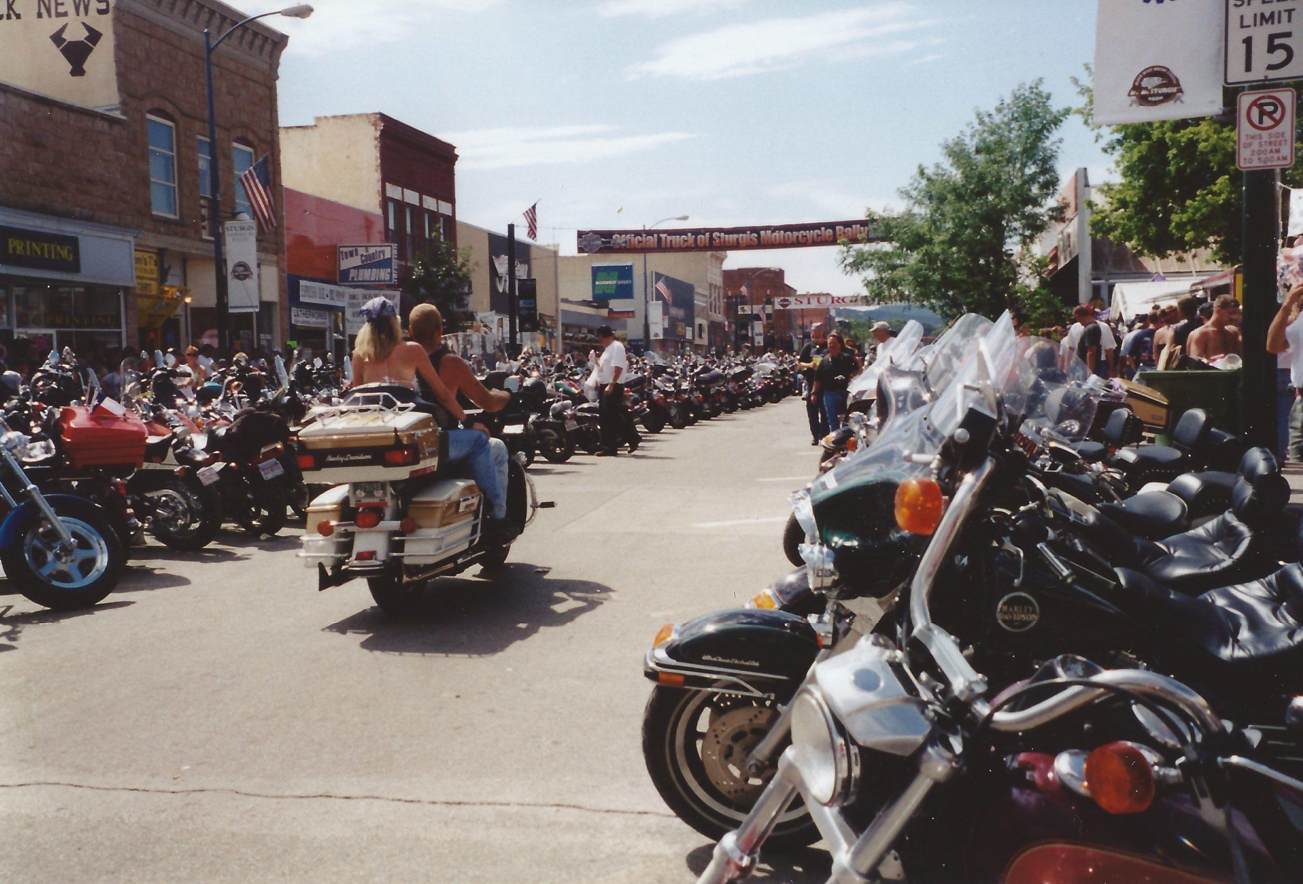 Sturgis motorcycle rally 2000
